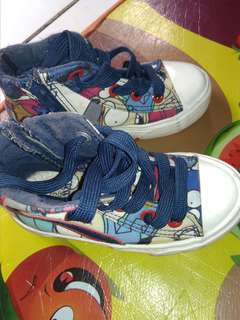 Sepatu anak laki laki size 23 insole 16cm