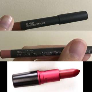 MAC lip bundle 3