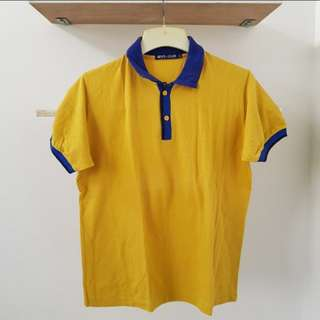 Blue Yellow Polo Shirt
