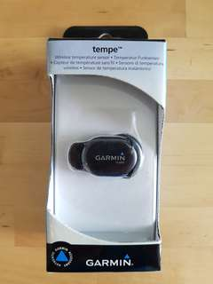 Garmin Tempe sensor