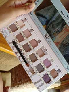The balm eye shadow nude dude