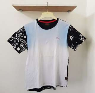 Evisu Front Back Design Tee