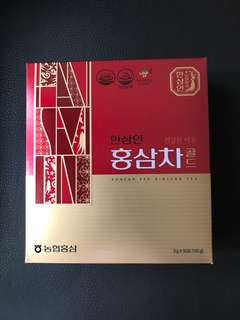 Korean Red Ginseng Tea 韓國蔘茶包