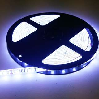 12V 5050高亮滴膠防水5米 白光 (每5米價格)