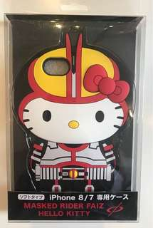全新購自日本 Hello Kitty 専門店幪面超人 555 FAIZ 十五週年紀念 iPhone 7/8 電話殼