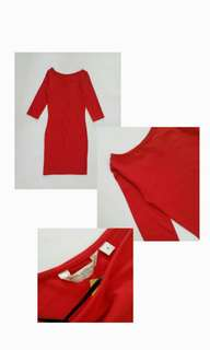 Dress Red New Look