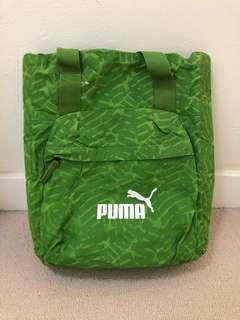 Brand new Puma green backpack