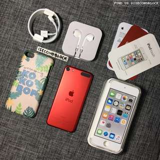 Ipod Touch Gen 6 128GB Red Edition