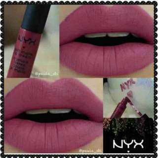 OriginaL NYX soft matte lip cream w/free coinbank. Buy 2 with free shipping(manila area).