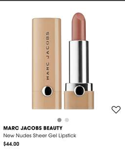 Marc Jacob's New Nudes lipstick