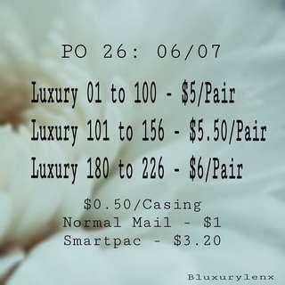 PO Luxury Babe