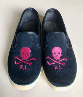 Ralph Lauren (RL) Slip on Sneakers