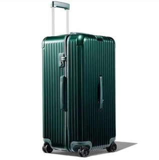 "RIMOWA ESSENTIAL Trunk Plus 31"" 832.80.64.4 Creen Gloss 2018最新款 碧璽綠 HKD7200🤗"