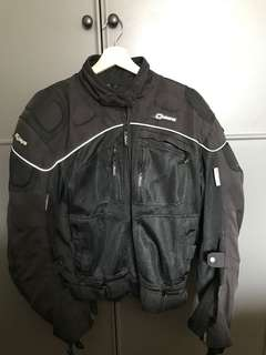 Motorbike Jacket and Glove