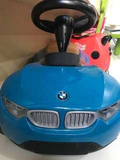 BMW kid's baby racer toy car