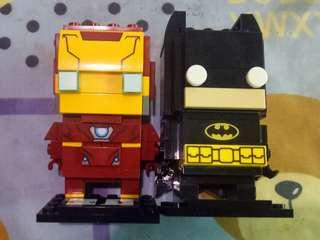 🚚 Lego樂高玩具  漫威鋼鐵人.DC蝙蝠俠  <一組>