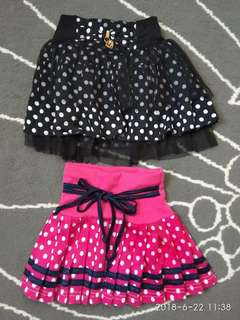 Baby Girl Pleated & Tutu Skirt