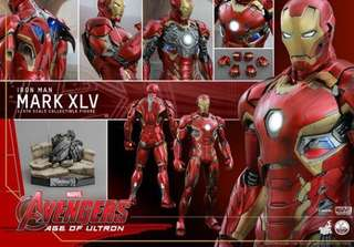 *MISB* Hot toys - Iron Man - Age of Ultron - Mark 45 - Normal edition