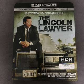 "🚚 ""(4K UHD) The Lincoln Lawyer (2011)"" 4K Ultra HD Blu-ray"