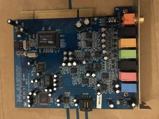 Rare M-audio soundcard