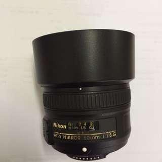 Nikkor 50mm 1.8g