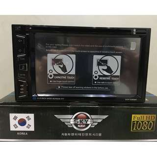 Car DVD Player CD/USB/DVD/BLUETOOTH/TOUCHSCREEN