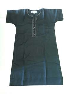 Brand New Boy's Black Kurta Jubah