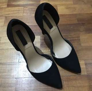 Forever21 Elegant and Classy Black Shoes