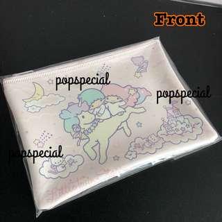 Little Twin Stars unicorn zip pouch