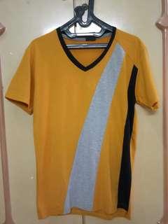 Tshirt Korea Kuning