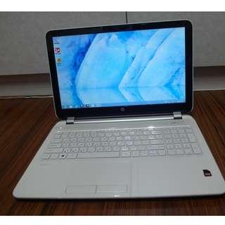 【出售】HP Pavilion 15-n019AX 四核心 天使白 筆記型電腦