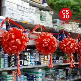 剪綵用品 開張用品 紅花球