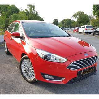 2015 Ford Focus HB 1.6A Titanium For Lease