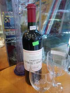 Red wine Chateau Lynch Bages pauillac