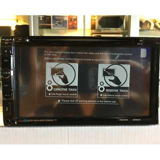 Car DVD Player CD/DVD/USB/BLUETOOTH/TOUCHSCREEN