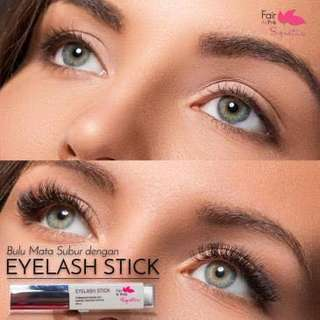 EYELASH STICK FAIR N PINK EYELASHES PEMANJANG BULU MATA EXTENSIONS SERUM TEBAL LENTIK NATURAL KOREA