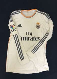 Real Madrid 2013-14 Adidas Home jersey