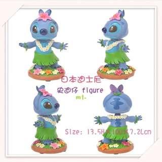 《預訂》  日本迪士尼史迪仔6~stitch figure