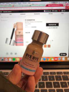 Bye bye breakout it cosmetics