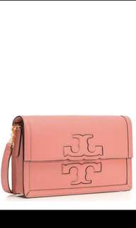 100%real 美國Tory Burch Jessica Clutch 一個