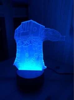 AT-AT Walker 3D night lamp