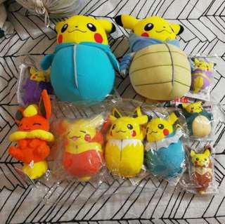[AUTHENTIC] Pokemon Plush Toys