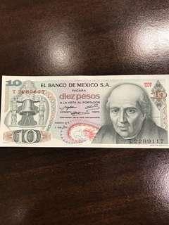Mexico pesos