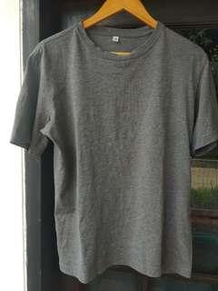 Uniqlo Grey Shirts