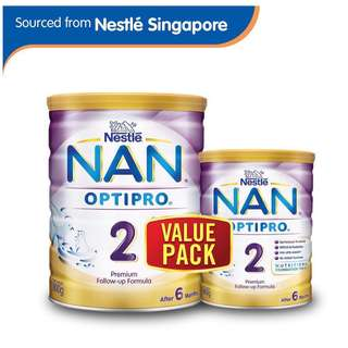 Nestlé® NAN® OPTIPRO® 2  Follow-up Formula 800g + FREE 400g