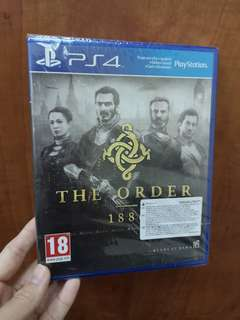 PS4 GAMES - THE ORDER 1886