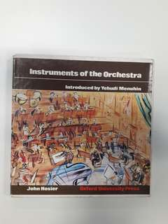 Instruments of The Orchestra box set 4 pcs