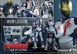(2nd days special 2/3 - Fixed Price) *MISB* Hot Toys - Iron Legion - Marvel's Avengers: Age of Ultron