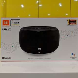 JBL LINK 300 Voice Activated Portable Speaker