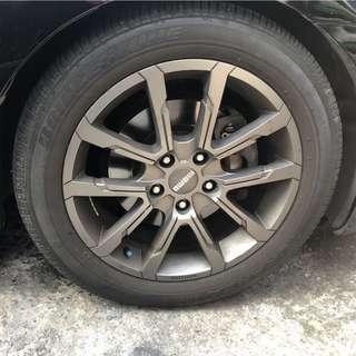 MOMO RS03 17吋鋁圈含胎
